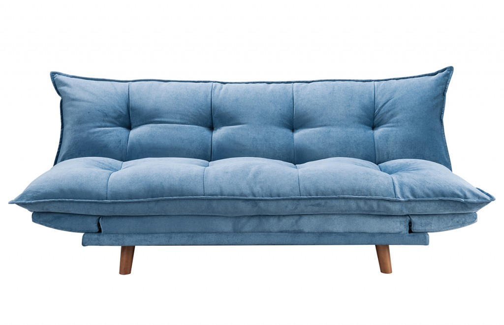 Canapé convertible PILLOW bleu