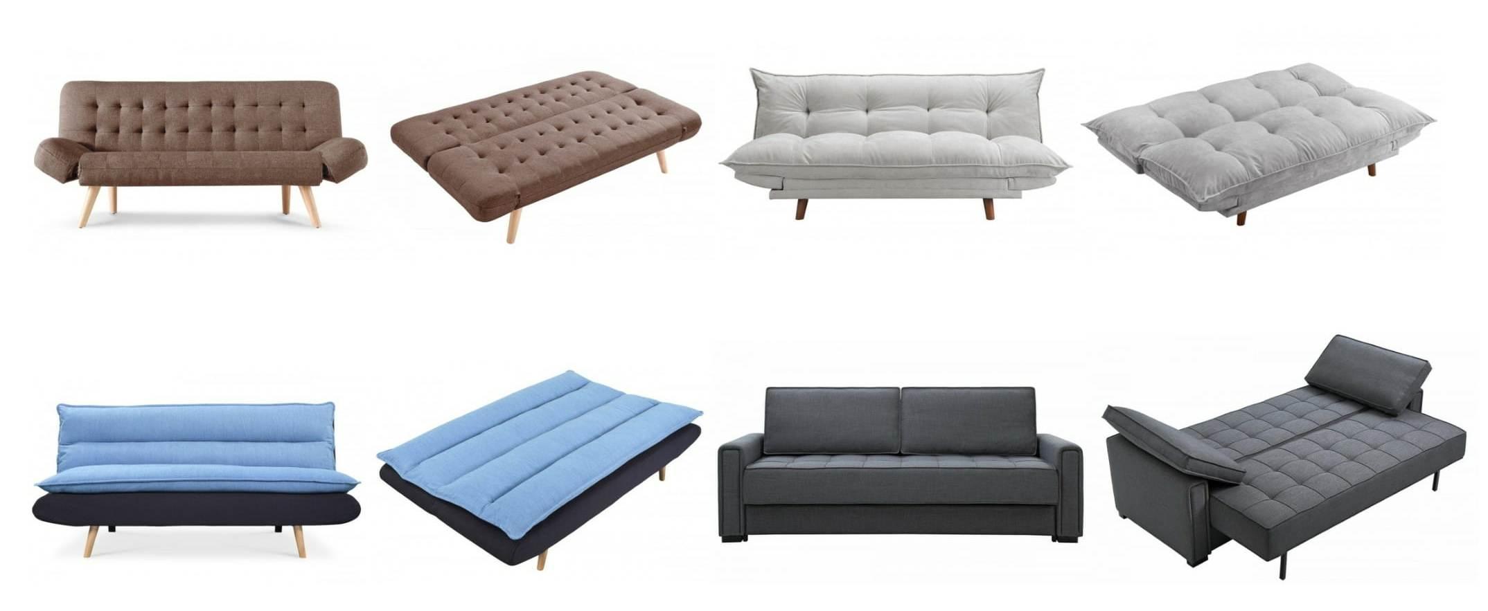 Canapés convertibles Bosco + Pillow + Jude + Icare
